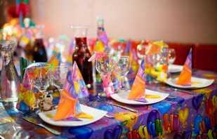 Decoración de mesa de cumpleaños para niños, ideas de diseño de vacaciones