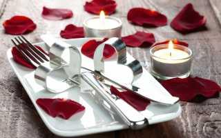 Ideas de decoración de mesa para el 14 de febrero, características de configuración de mesa