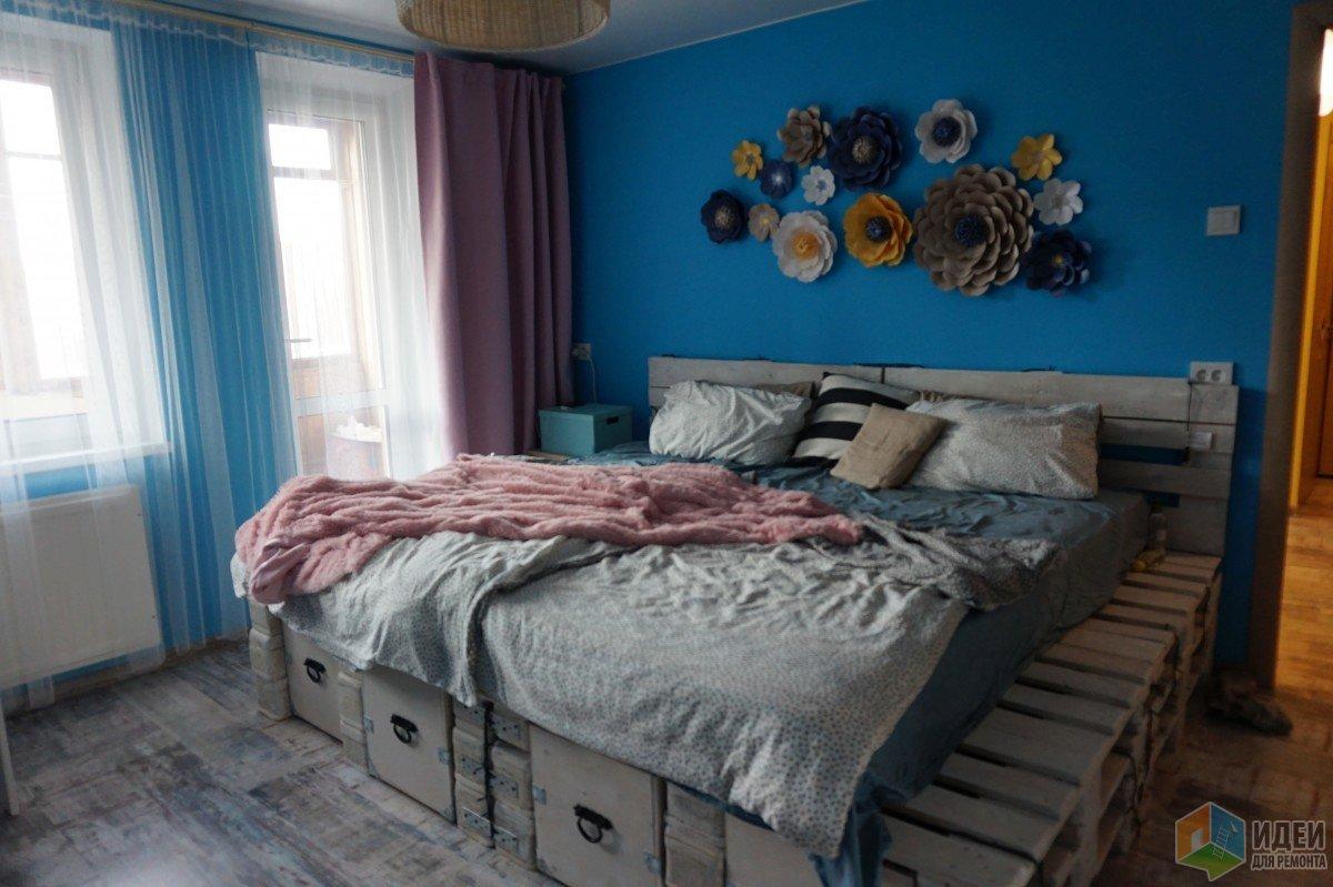 Jak zrobić łóżko z palety własnymi rękami