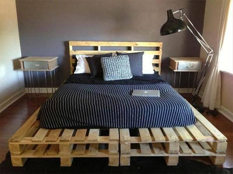 Łóżko palet